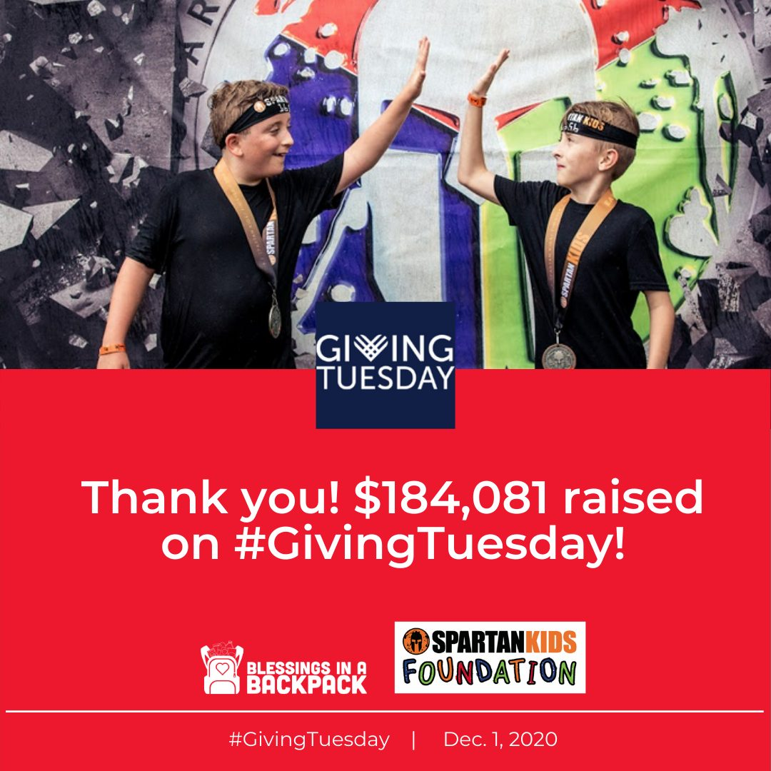 Giving Tuesday: We did it! THANK YOU.
