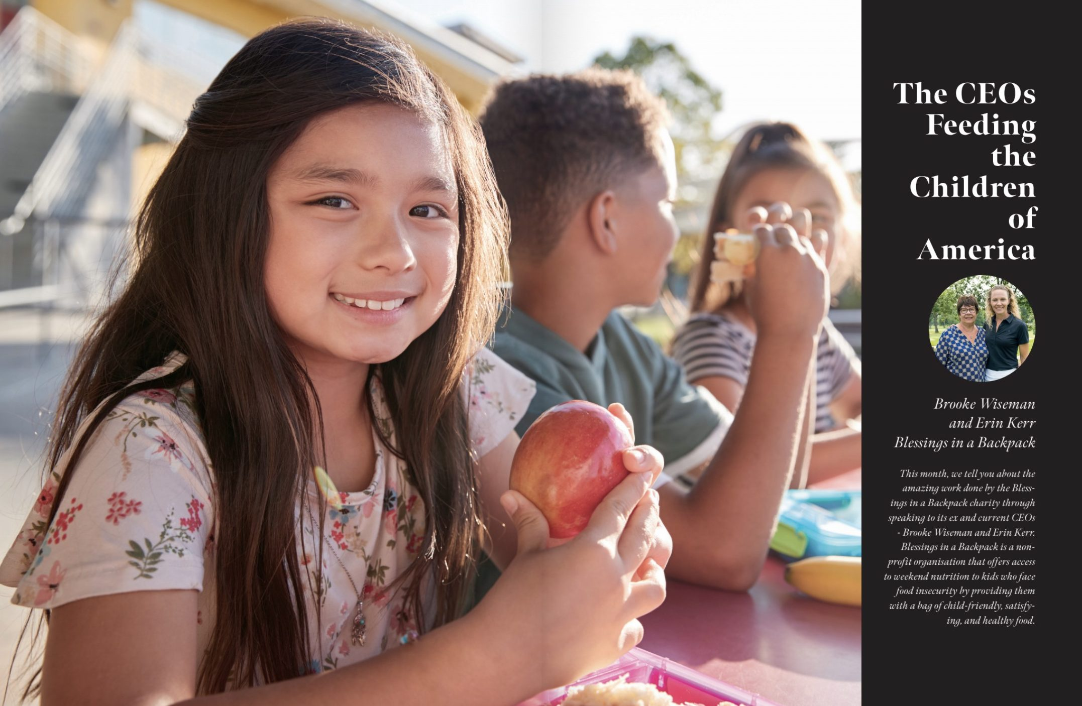 The CEOs feeding the children of America